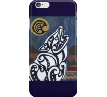 Legend of the White Wolf iPhone Case/Skin
