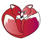 Fox love 2 by Lauren Eldridge-Murray