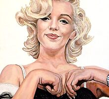 Marilyn Monroe by Tom Roderick