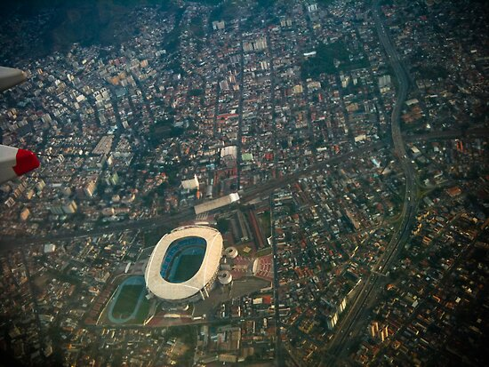 Stadium [ iPad / iPod / iPhone Case ] by Mauricio Santana