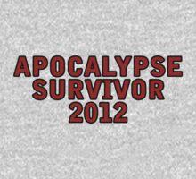 Apocalypse Survivor 2012  Kids Clothes