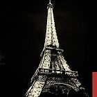Eiffel Tower Paris iPhone Case by Marcel Putrus