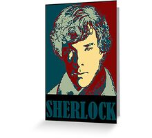 Sherlock Holmes Border Greeting Card
