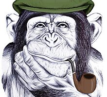 Wise Mr Chimp by LibbyWatkins