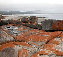 Mist and Cloud, Binalong Bay, Tasmania, Australia. by kaysharp