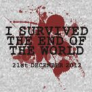 I SURVIVED THE END OF THE WORLD - 21ST DECEMBER 2012 by CalumCJL