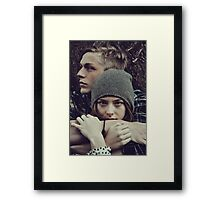 Cuddles and lots of Loving Framed Print