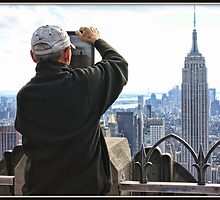 Framing the Empire State Building by Mikell Herrick