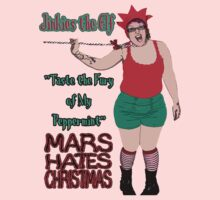 Mars Hates Christmas - Jinkies Peppermint by perilpress
