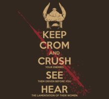 KEEP CROM - None White version by SenseiMonkeyboy