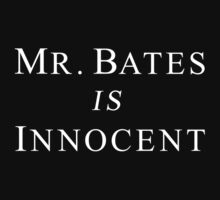 Mr.Bates is Innocent by Elliott Butler