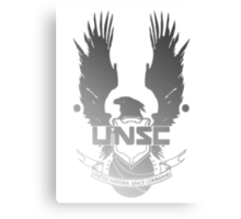 UNSC Faded  Metal Print
