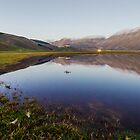 Tranquility in Castelluccio Plan by Renzo Re