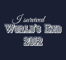 I survided world's end 2012 (light version) Kids Clothes