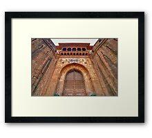 Shaniwarwada #3 Framed Print
