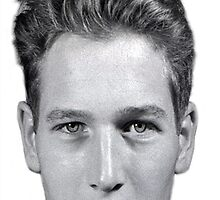 Paul Newman U.S. Navy Portrait  by iphonejohn
