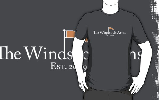 Welcome to The Windsock Arms (white) by inkgeek