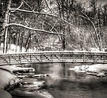 Brainards Bridge After a Snow Storm 3 by Thomas Young