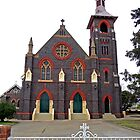 St Patricks Church, Glen Innes, N.S.W. Australia by Margaret  Hyde
