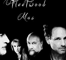 Fleetwood Mac Faces by Elliott Butler