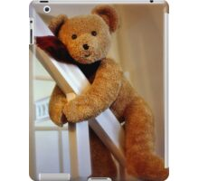 Caught in the act! iPad Case/Skin