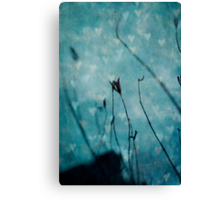 Drowning in a sea of love Canvas Print