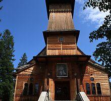Koscielisku Kazimierza church by Tony Brown