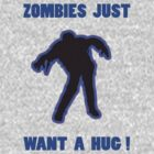 Zombie Hug Blue by ZombieBubble