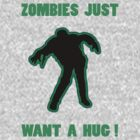 Zombie Hug Green by ZombieBubble