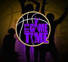 It's Game Time - LA Lakers Color (Special Edition) by Adamzworld