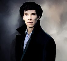 Sherlock portrait by koroa