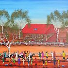 """Outback Race Day"" EJCairns; SOLD by EJCairns"
