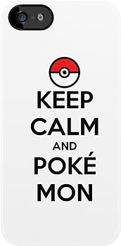 Keep Calm and Pokmon by zijing