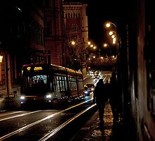 Electric Trolley by phil decocco