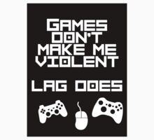 Games don't make me violent..(Sticker) by Vilreen