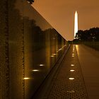 Vietnam Washington Memorial by Dick Paige