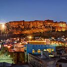 Mehrangarh Fort, Jodphur by Peter Hammer