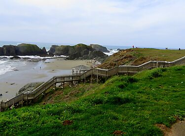 Down To The Beach...Bandon, Oregon by trueblvr