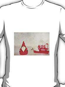 Santa And His Sleigh T-Shirt