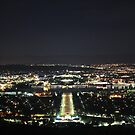 Canberra by Night by NinaJoan