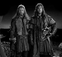 Fili and Kili  by lindsaylokalia