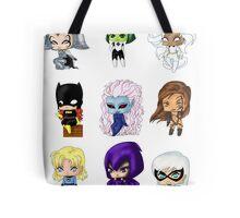 Chibi Heroines Tote Bag