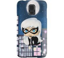 Chibi Black Cat Samsung Galaxy Case/Skin
