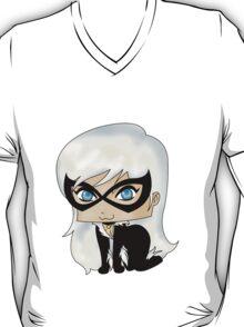 Chibi Black Cat T-Shirt