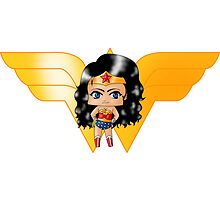 Chibi Wonder Woman by artwaste