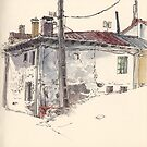 Valdecastro's house in Guardo by Adolfo Arranz
