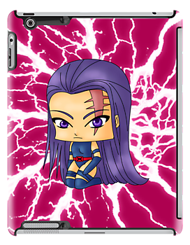 Chibi Psylocke by artwaste