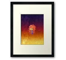 Chibi Starfire Framed Print