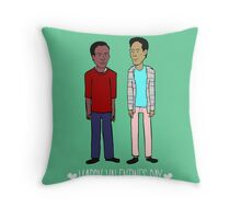Troy and Abed Throw Pillow