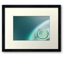 Oil & Water series #2 Framed Print